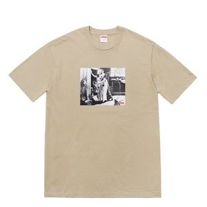 Supreme x Mike Kelley Hiding From Indians Tee New